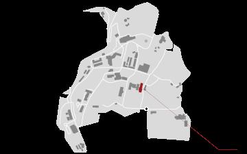 reitoria mapa