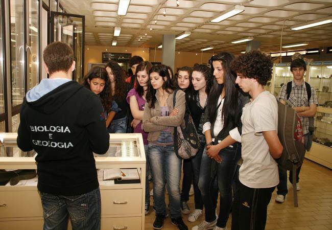 Visita escolar (Dia Aberto da UTAD - 2011)