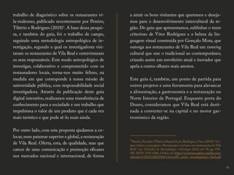 Guia de Restauração de Vila Real 2018 10 1