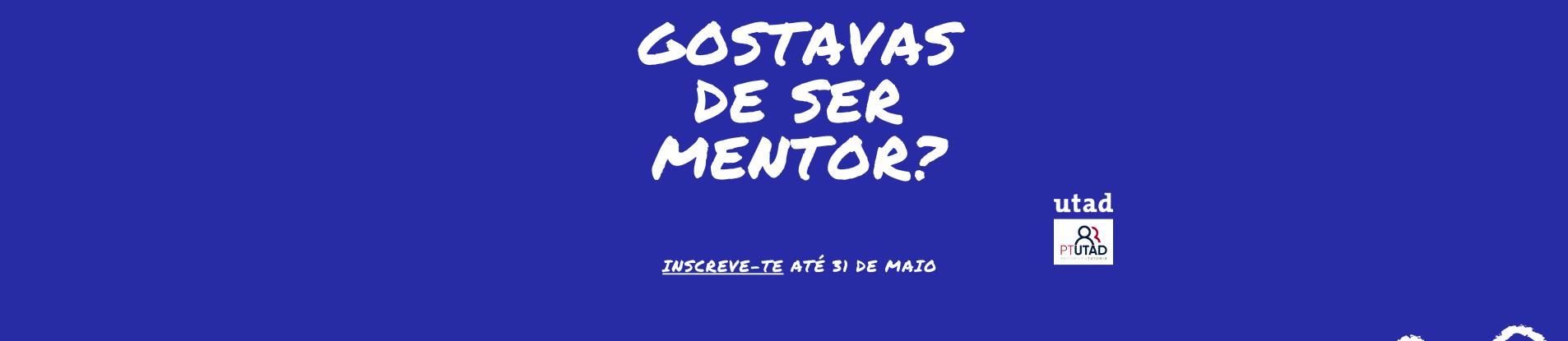 Queres ser mentor