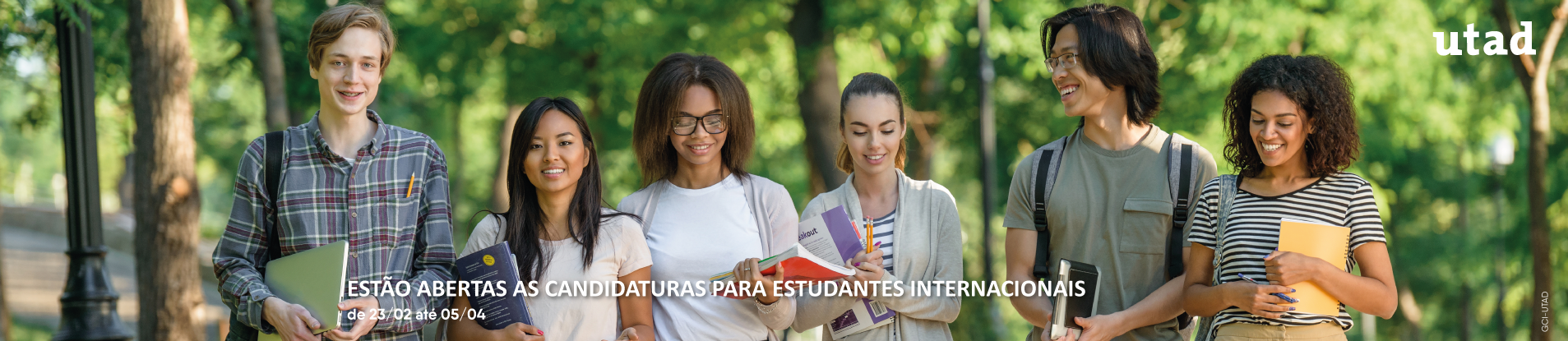sliders estudantes internacionais