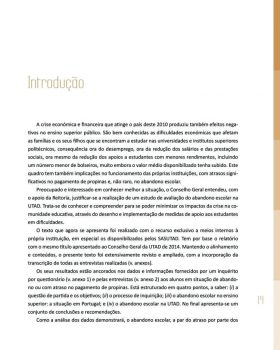Abandono na Universidade de Trás os Montes e Alto Douro Estudo Exploratório 20
