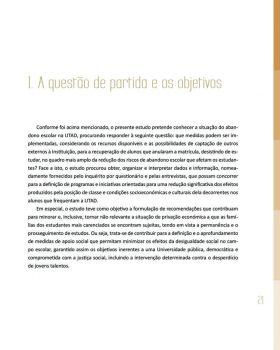 Abandono na Universidade de Trás os Montes e Alto Douro Estudo Exploratório 22