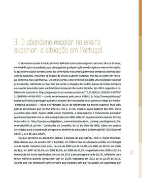 Abandono na Universidade de Trás os Montes e Alto Douro Estudo Exploratório 28