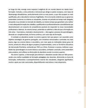 Abandono na Universidade de Trás os Montes e Alto Douro Estudo Exploratório 30