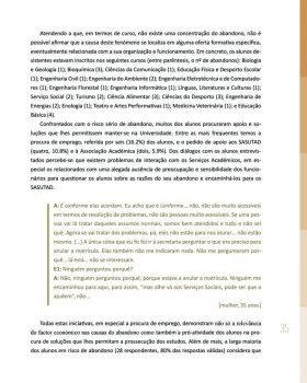 Abandono na Universidade de Trás os Montes e Alto Douro Estudo Exploratório 36