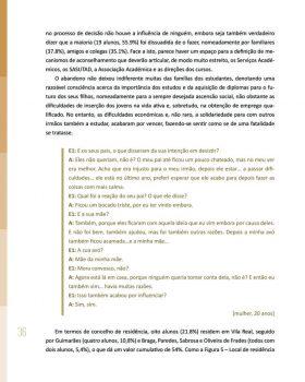 Abandono na Universidade de Trás os Montes e Alto Douro Estudo Exploratório 37