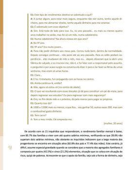 Abandono na Universidade de Trás os Montes e Alto Douro Estudo Exploratório 41