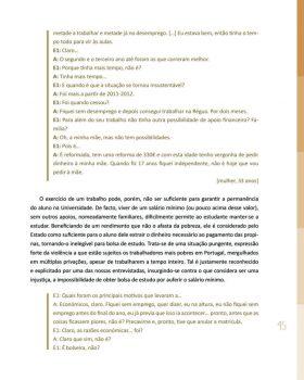 Abandono na Universidade de Trás os Montes e Alto Douro Estudo Exploratório 46