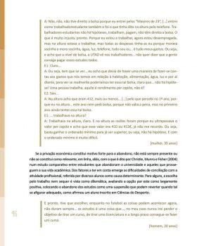 Abandono na Universidade de Trás os Montes e Alto Douro Estudo Exploratório 47