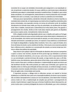 Abandono na Universidade de Trás os Montes e Alto Douro Estudo Exploratório 53