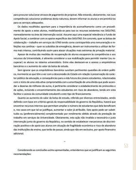 Abandono na Universidade de Trás os Montes e Alto Douro Estudo Exploratório 54