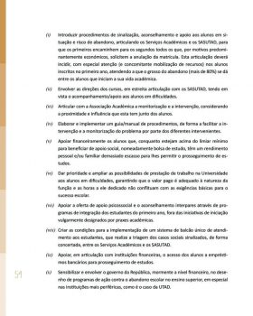 Abandono na Universidade de Trás os Montes e Alto Douro Estudo Exploratório 55