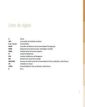 Abandono na Universidade de Trás os Montes e Alto Douro Estudo Exploratório 8